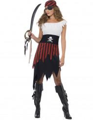 Piraten zeerover outfit voor vrouwen