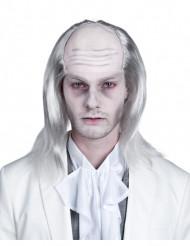 Witte zombie pruik