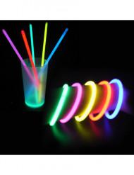 Set 100 lichtgevende armbanden