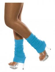 Blauwe beenwarmers voor volwassenen