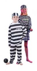 Koppelkostuum gevangenen kinderen