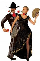 Verkleedkostuum Spaans koppel Feestkleding
