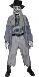 Verkleedkostuum Zombie zeerover voor heren Halloween outfit