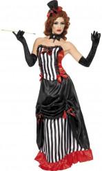 Halloween gravin outfit voor dames