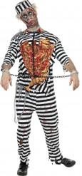 Gevangene Zombie Halloween kostuum