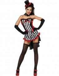 Verkleedkostuum voor dames sexy vampier Halloween kleding