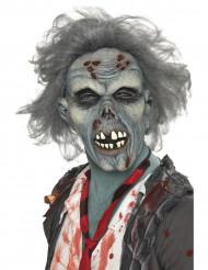Grijs zombiemasker voor volwassenen