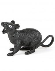 Zwarte rat decoratie met geluid