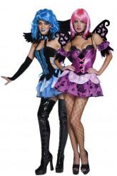Verkleedkostuum voor koppel engel en elf der nacht Halloween kleding