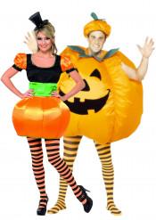 Verkleedkostuum koppel pompoen Halloween kleding