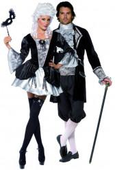 Koppel vampieren Barok Halloween kostuum