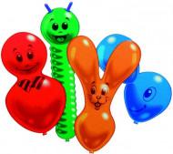 10 dieren ballonnen