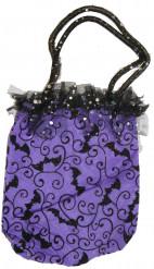 Paarse handtas voor vrouwen