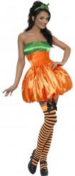 Verkleedkostuum sexy pompoen voor dames Halloween artikel