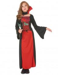 Rood vampierenkostuum voor meisjes