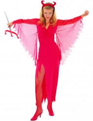 Duivel pak voor dames Halloween kostuum