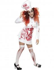 Kok Zombie Halloween kostuum voor dames