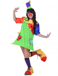 Feestelijke clown outfit voor dames