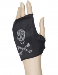 Doodskop handschoen voor vrouwen