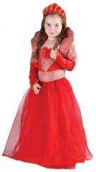 Rode koningin kostuum voor meiden