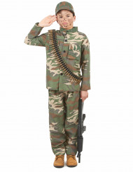 Soldaten kostuum voor jongens