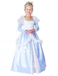 Blauw prinsessen kostuum voor meisjes
