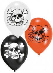 6 piraat ballonnen