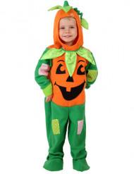 Oranje en groene Pompoenen pak Voor Halloween