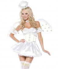 Sexy engelenkostuum voor vrouwen