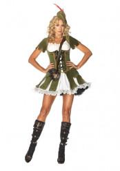 Sexy Robin Hood kostuum voor vrouwen