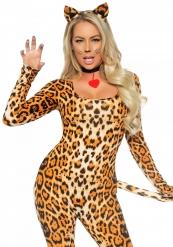 Sexy luipaard pak voor vrouwen