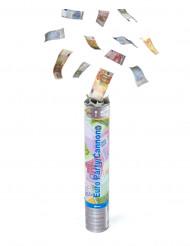 Confetti kanon euro