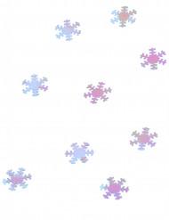 Glimmende sneeuwvlokken decoraties 45 gr