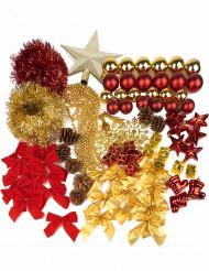 Kerstboom decoratie set