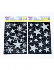 Set van stickers met sterren