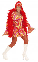 Oranje Drag queen pak voor heren