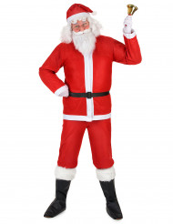 Traditioneel kerstman pak voor volwassenen