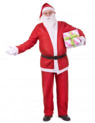 Kerstman pak voor volwassen