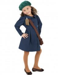 Retro schoolmeisje kostuum jaren 40 voor meisjes