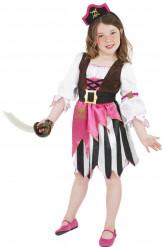 Roze piraten pak voor meisjes