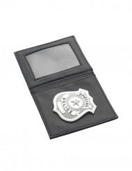 Politie portefeuille met penning