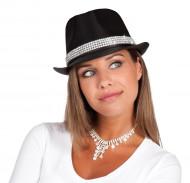 Chique zwarte hoed voor volwassenen