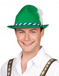 Groen tiroler hoed