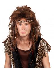 Prehistorische pruik voor volwassenen