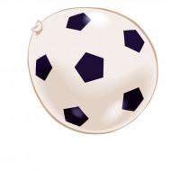 8 voetbalballonnen