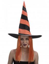 Halloweenheksenpruik voor vrouwen