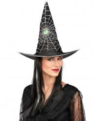 Steile Halloween heksenpruik voor vrouwen