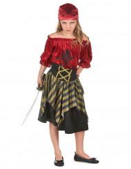 Piratenbandiet outfit voor meisjes