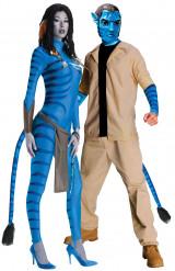 Kostuum voor koppels: Neytiri en Jake Sully Avatar™
