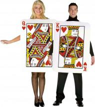Hartenheer en vrouw koppelkostuum